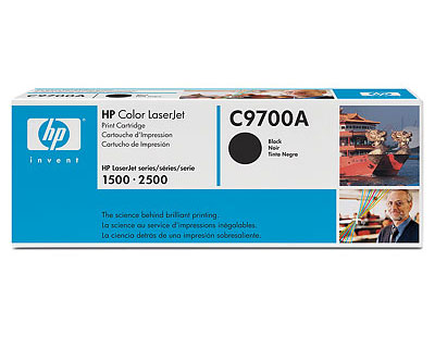 HP C9700A BLACK Toner Cartridge for HP LaserJet 2500 Series