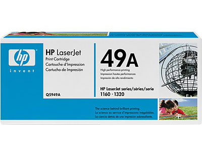 HP Q5949A Black Toner Cartridge  for 1160 / 1320 / 1320t / 1320n