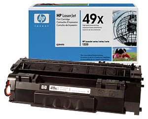 HP Q5949X Black Toner Cartridge  for 1320 / 1320t / 1320n