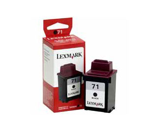 Lexmark 71 Black Printer Cartridge compatible with X63 X73 X83