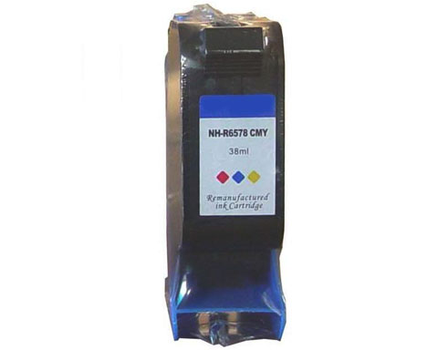 Remanufactured inkjet cartridge NH-R6578 CMY ink for HP No.78