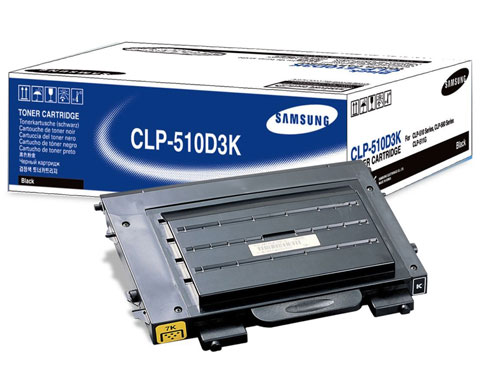 Samsung CLP-510D3K BLACK Laser Toner Cartridge For CLP-510