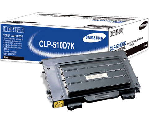 Samsung CLP-510D7K BLACK Laser Toner Cartridge For CLP-510