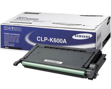 Samsung CLP-K600A Black Laser Toner Cartridge For CLP-600
