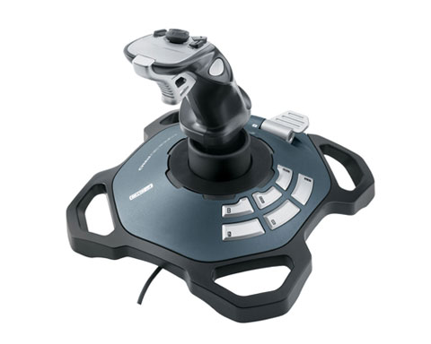 Logitech Force 3D Pro USB Cable Joystick Platform for Mac / PC