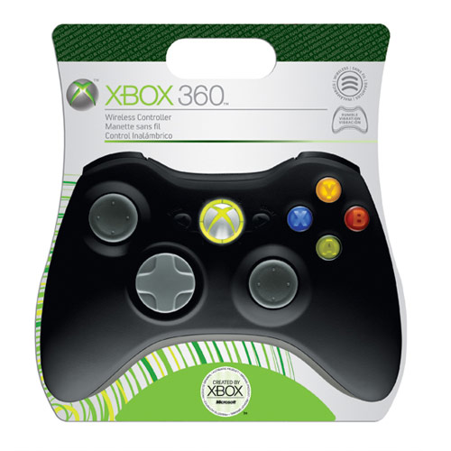 Xbox 360 Wireless Controller (Black) - B4F-00014