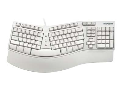 MS NATURAL SPANISH KEYBOARD ELITE PS2/USB Ergonomic D