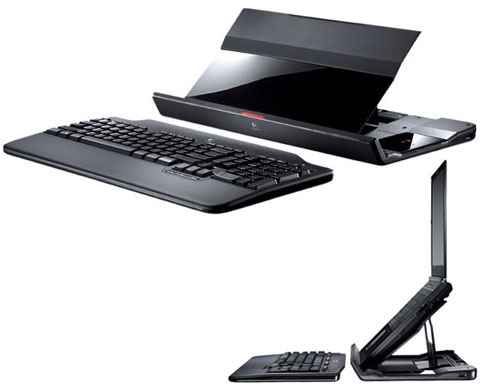 Logitech Alto Cordless Notebook Stand with USB Hub