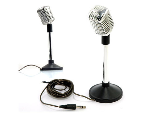 Essocom Classic Style Microphone for PC VOIP - MIC-388