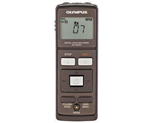 Olympus� VN-5200PC WMA Digital Recorder - Long time recording ,