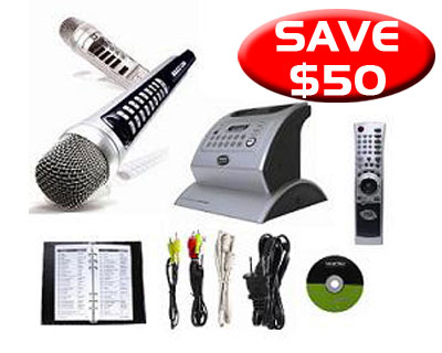 Magic Sing Wireless All-in-One Wireless KARAOKE System