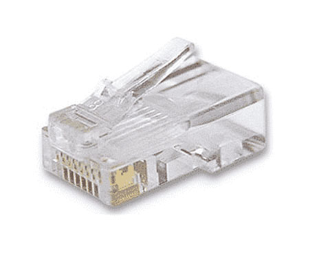 CAT6, RJ-45 Modular Plug, Unshielded