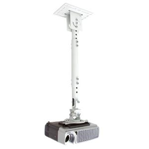 Telehook TH-WH-PJ-CM Universal Projector Ceiling Adjustable Pole