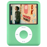 New Apple iPod nano 8GB 3rd G Baby Metalic Green MB253LL/A