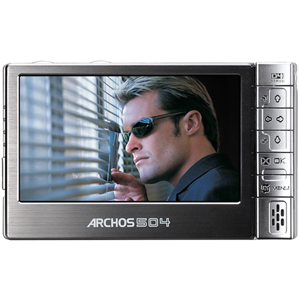 sold out ARCHOS 504 80GB STORE & WATCH MOVIES PHOTOS & MUSIC
