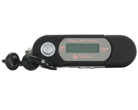 CENTON moVex Black 4GB MP3 Player 4GBMP3-001