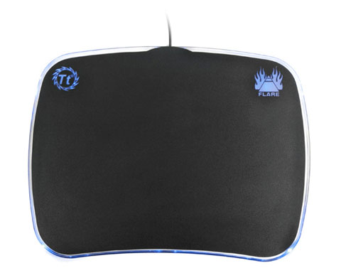 Thermaltake Flare Illuminated Usb Mouse Pad