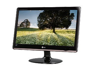"LG E2050T-SN Glossy Black 20"" 5ms LED Backlight LCD monitor Slim"