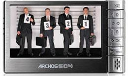 z sold out ARCHOS 604 30GB STORE & WATCH MOVIES PHOTOS & MUSIC