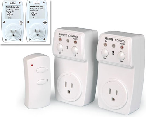 Remote Wireless Control Outlet 2 Pack 2 Outlet Remote - BH9936-2