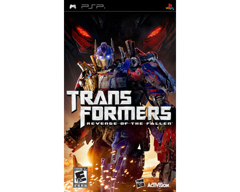 Activision Transformers: Revenge of the Fallen (PSP) Wi-fi play
