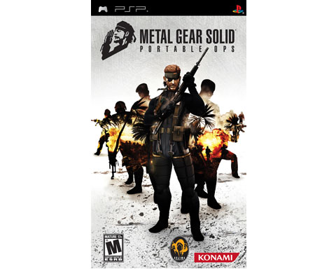 Metal Gear Solid : Portable Ops for PSP
