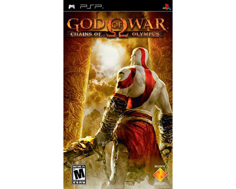 *Greatest Hits* God of War: Chains of Olympus for PSP