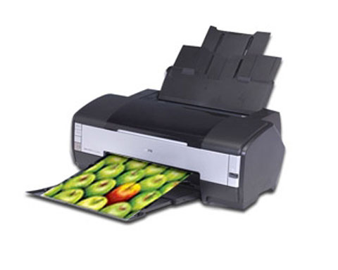 Epson Stylus Photo 1400 Color Inkjet Printer, CD/DVD Printing, U