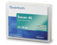 Quantum Travan40 Data Cartridge TR7 20/40GB Single Pack