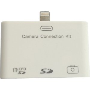 4XEM Lightning Camera Connection & Card Reader Kit For iPad/iPad