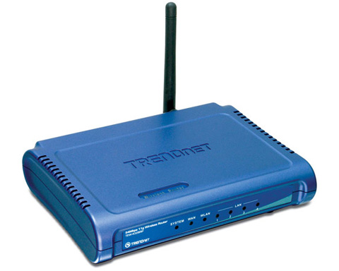 TRENDnet - TEW-432BRP Wireless G Broadband Router 54Mbps