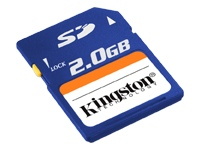 Z SOLD OUT Kingston 2GB Secure Digital Card