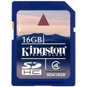 Z SOLD OUT Kingston 16GB Secure Digital High Capacity (SDHC) Car