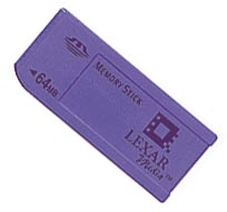 Z SOLD OUT 64MB Lexar MemoryStick MS Flash Memory Card