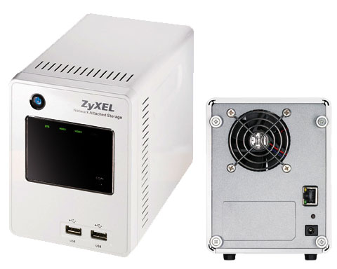 ZyXEL NSA220 Diskless System Network Storage - Up to 2.0 TB