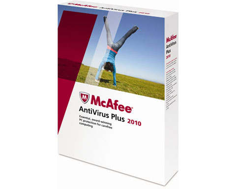 McAfee AntiVirus Plus 2010 1 User New Version