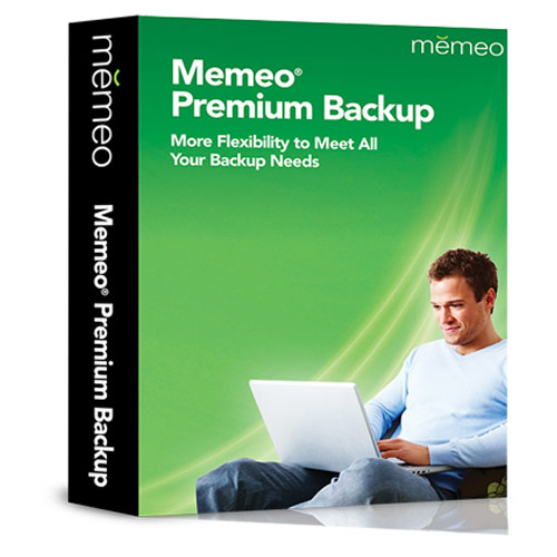 Memeo Premium Backup v.4.0 with 1 GB Cloud - MBUPE1UNA