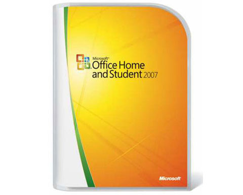 Microsoft Office 2007 Home and Student - 3 Users