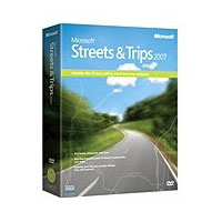 Microsoft Streets & Trips 2007 for Windows English Box DVD B17-0