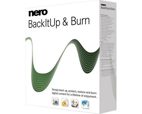 Nero BackItUp & Burn - Windows