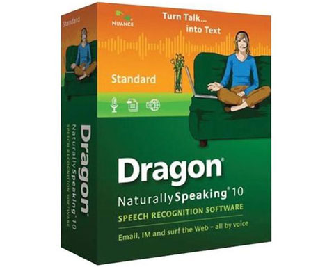 Nuance Dragon NaturallySpeaking v.10.0 Standard - Speech Recogni