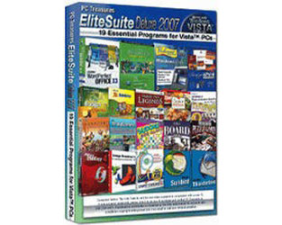 PC Treasures EliteSuite Deluxe 2007 - 19 Essential Programs for