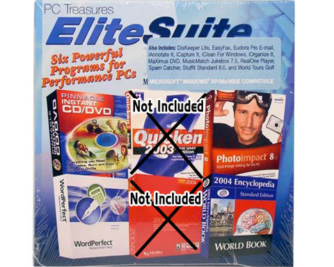 PC Treasures EliteSuite Deluxe - 4 Powerful Programs for Perform