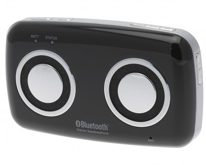 LG MSB-100 Visor Mount Bluetooth Car Kit Hands Free Speaker