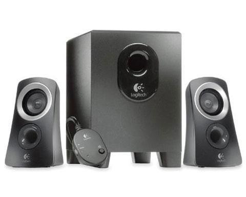 Logitech Z313 Multimedia Speaker System - 2.1channel 25W (RMS)