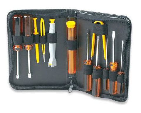 Manhattan 400077 13PCS Basic Computer Tool Kit