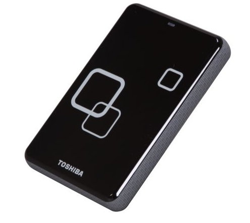 TOSHIBA Canvio Plus 1TB USB 2.0 Raven Black Portable Hard Drive