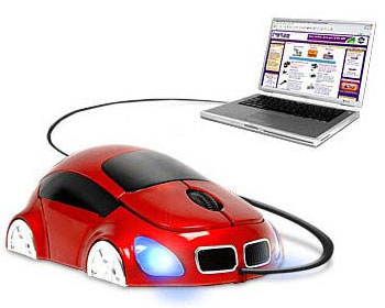 Optical Computer Car Mouse - USB