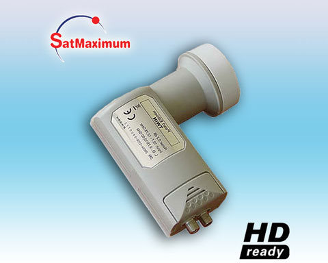 LNB Universal Dual 10.7~12.75 GHz Super Low 0.2dB noise figure.