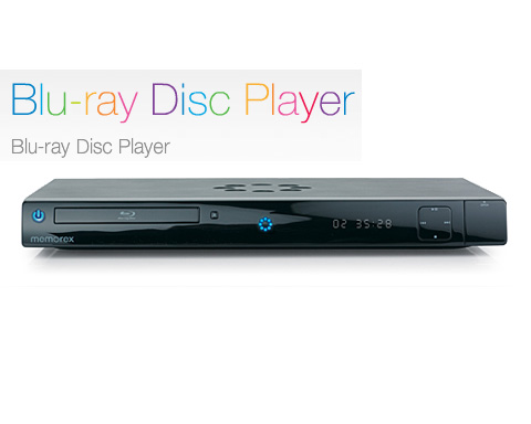 MEMOREX MVBD-2520 1080p Blu-ray Disc Player